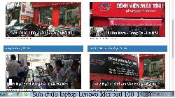 Bảo hành sửa chữa laptop Lenovo Ideapad 100-14IBY lỗi treo máy