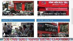 Trung tâm sửa chữa laptop Toshiba Satellite C640-1008U, C640-1015U, C640-1024U, C640-1027U lỗi nhòe hình