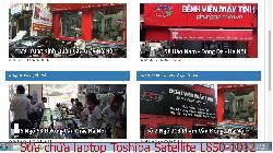 Bảo hành sửa chữa laptop Toshiba Satellite L850-1012, L850-1018, L850-1023X, L850-B220 lỗi không lên gì